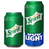 Beersy Can Cover Silicone Sleeve Hide a Beer to Look Like Soda, Fits 12 oz, Novelty Alcohol Disguise for Outdoor Events, Spirit