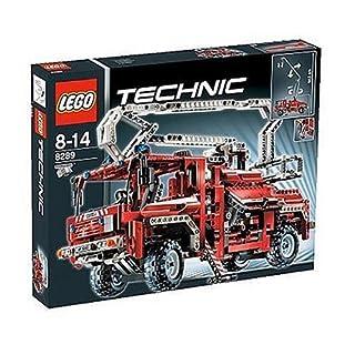 Lego Technic 8289 - roter Feuerwehr Truck (B000EXN8EI) | Amazon price tracker / tracking, Amazon price history charts, Amazon price watches, Amazon price drop alerts