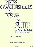 デュボア : 性格的小品集 ハンガリー風に (サクソフォン、ピアノ) ルデュック出版