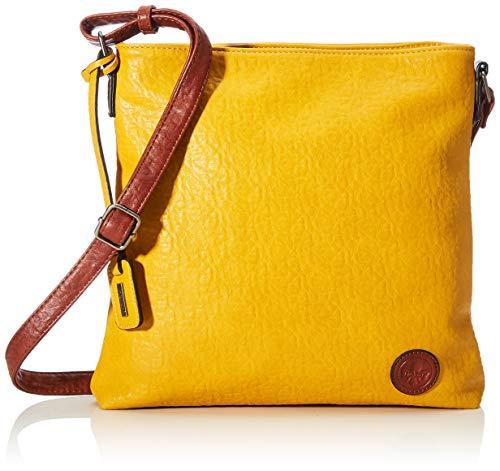 Rieker Handtasche, Bolsa de noche para Mujer, Amarillo (mais/amaretto), 280x50x300 centimeters (B...