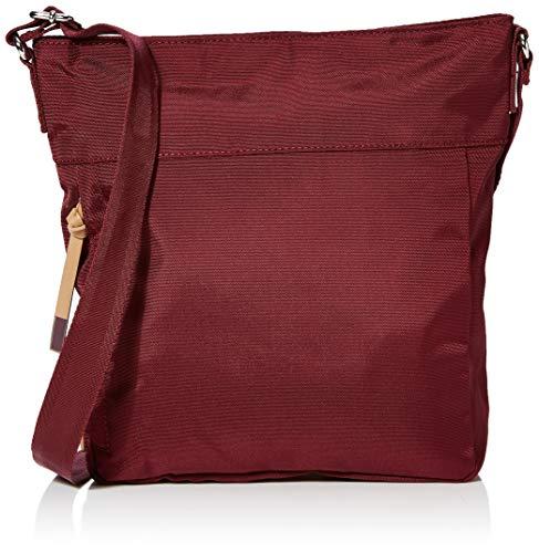 Esprit Accessoires Damen Izumi Medshldbg Umhängetasche, Rot (Bordeaux Red), 8x25x30 cm