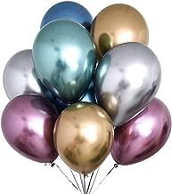 STOBOK Globos de látex metálicos nacarados Globos Decoración para Fiestas Globos 12 Pulgadas 50pcs (Color al Azar)