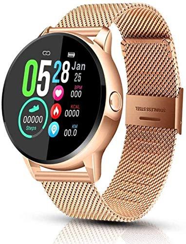 JSL Reloj inteligente para Android e iOS Fitness Tracker con monitor de frecuencia cardíaca, reloj inteligente con contador de pasos, monitor de sueño