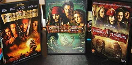 Pirates of the Caribbean Trilogy (Curse of the Black Pearl / Dead Man's Chest / At World's End)
