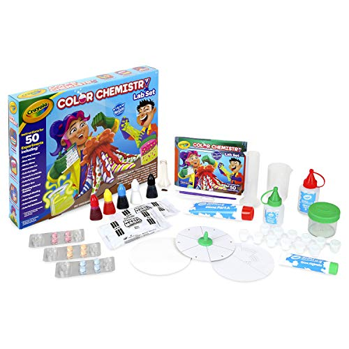 Crayola Color Chemistry Set For Kids, Gift for Kids, Ages 7,...