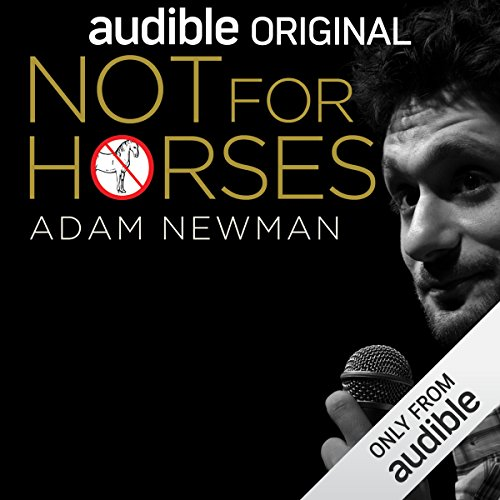 Not for Horses audiobook cover art