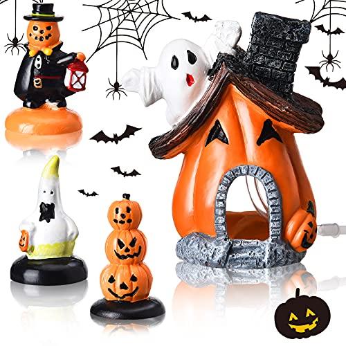 Blulu 4 Pieces Halloween Pumpkin Fi…