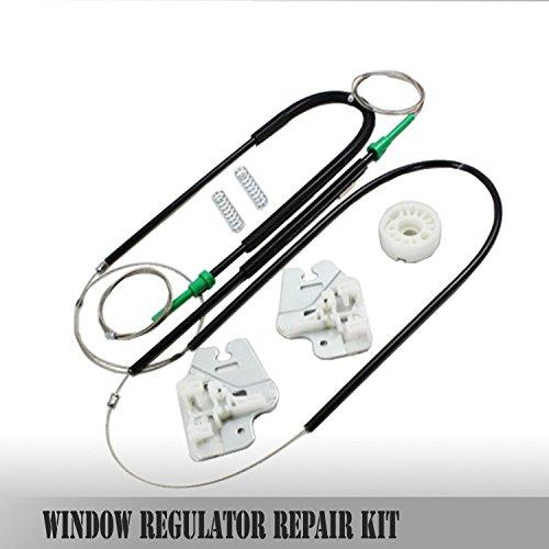 Bossmobil Delantero derecho o izquierdo, kit de reparación de elevalunas eléctricos compatible con (E46)