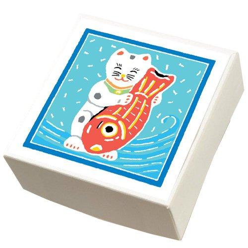 【鈴廣かまぼこ】こ・こ・ろ 白箱 鯛抱き猫