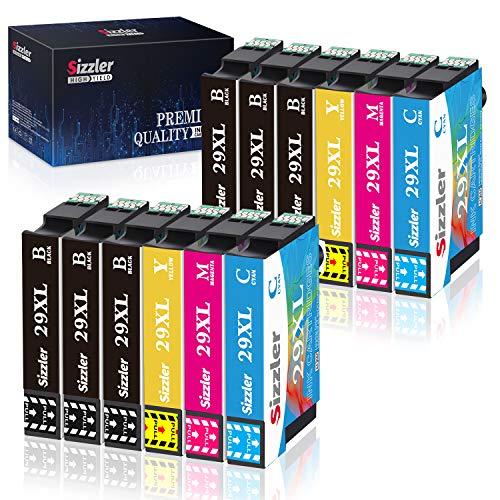 Sizzler 29XL Cartucce Compatibili Epson 29 XL per Epson XP-342 XP-442 XP-245 XP-235 XP-247 XP-432 XP-345 XP-257 XP-352 XP-332 XP-355 XP-455 XP-335 XP-445 XP-255 (6 Nero,2 Ciano,2 Magenta,2 Giallo)