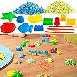 Playtastic Knetsand: Kinetischer Sand in 2 Farben