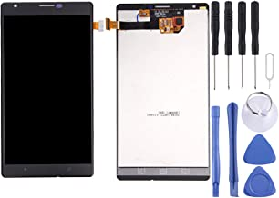 XIAYAN Repair Parts LCD Screen and Digitizer Full Assembly for Nokia Lumia 1520 (Black) Spare Parts (Color : Black)