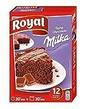Royal Tarta de Chocolate Milka, Preparado en Polvo - 12 Raciones, 350 g