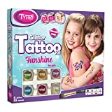 Tytoo Kit de Tatouage à Paillettes Funshine pour Filles, avec 55 modèles Inclus....