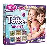 Tytoo Kit de Tatuaje de Purpurina para Chicas con 55 Plantillas, Uso...