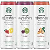Starbucks, Refreshers with Coconut Water, 3 Flavor...