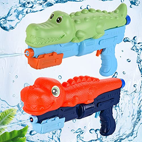 Herefun Pistola de Agua de Juguete, 2 Pack Pistolas de Agua para...