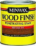 Minwax 22150 1/2 Pint Red Oak Wood Finish Interior Wood Stain