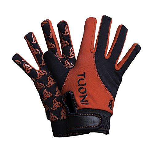 Tuoni Junior Thermal Multi Sport Handschuh mit Silikongriff Ideal für Fußball, Rugby, Hockey, Mountainbike, Radfahren, Laufen und Netball. XX-Small Mehrfarbig