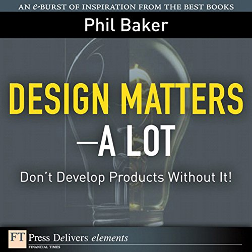 Great Design Matters—A Lot cover art