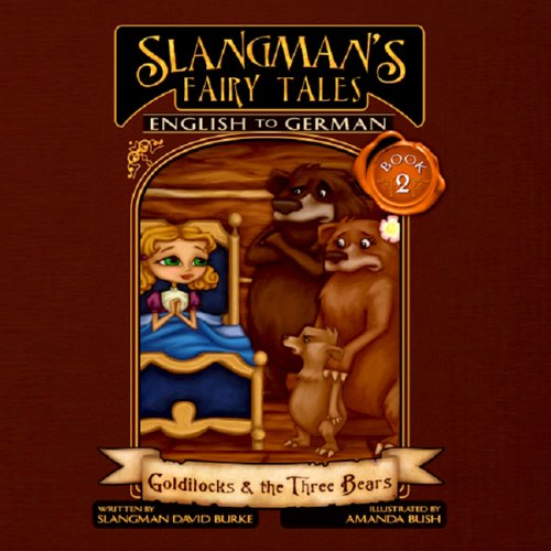 Slangman's Fairy Tales - English to German audiobook cover art