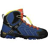McKINLEY Unisex-Kinder Trekkingstiefel Makalu AQX Trekking- & Wanderstiefel, Blau (Dunkelblau/Gelb/Schwarz 000), 33 EU