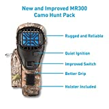 Thermacell MR300F Portable Mosquito Repellent (Black) with Camo Holster; Ultimate Mosquito Repellent System; Invisible, Effective Mosquito Defense; No Scent, DEET-Free, Won't Ruin Your Gear