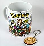 Tazza Pokemon di prima generazione + lamiera