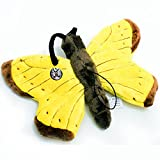 METTY Peluche papillon ailes jaunes 25cm de kuscheltiere.biz