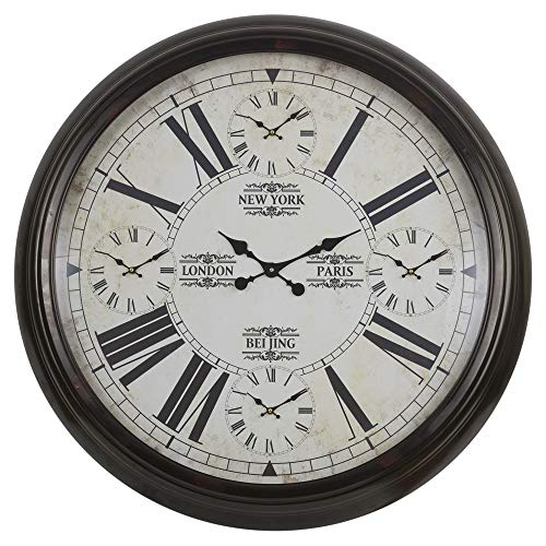 URBNLIVING - Reloj de Pared (5 en 1, Grande, 93 cm)