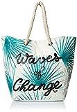Roxy - Bolsa de Playa de Reversible Reciclada - Mujer - ONE SIZE - Blanco