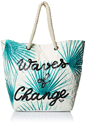 Roxy - Bolsa de Playa de Reversible Reciclada - Mujer - ONE SIZE - Blanco