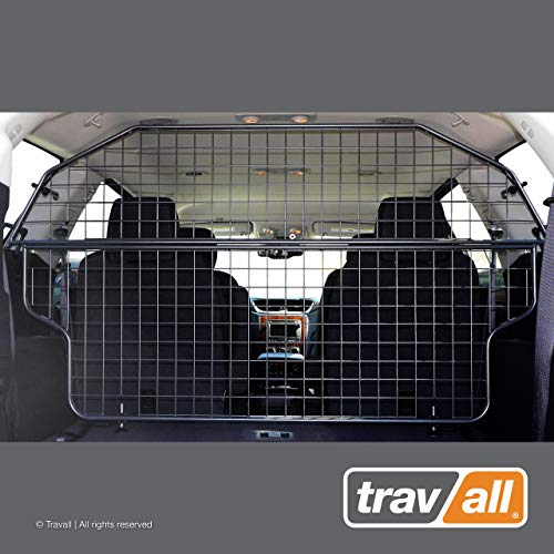 Travall Guard Plus Compatible with Chevrolet Traverse (2012-2017) TDG1437 - Rattle-Free Full Height Steel Vehicle Specific Pet Barrier