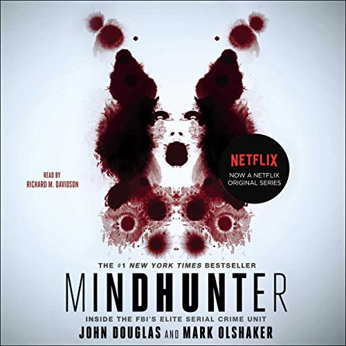 Mind Hunter audiobook cover art