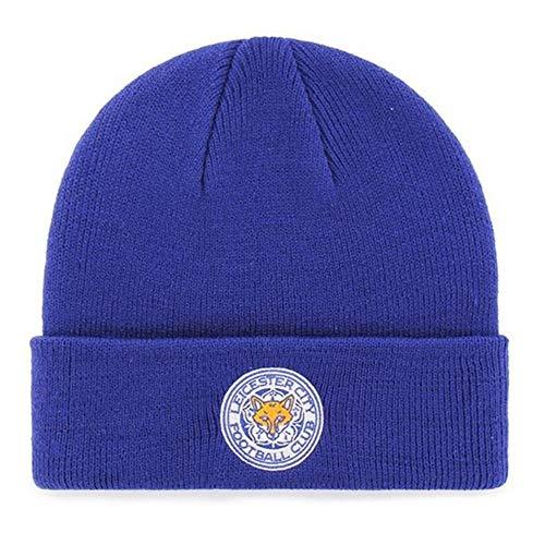 Cappello lavorato a maglia Leicester City con licenza Club, Royal