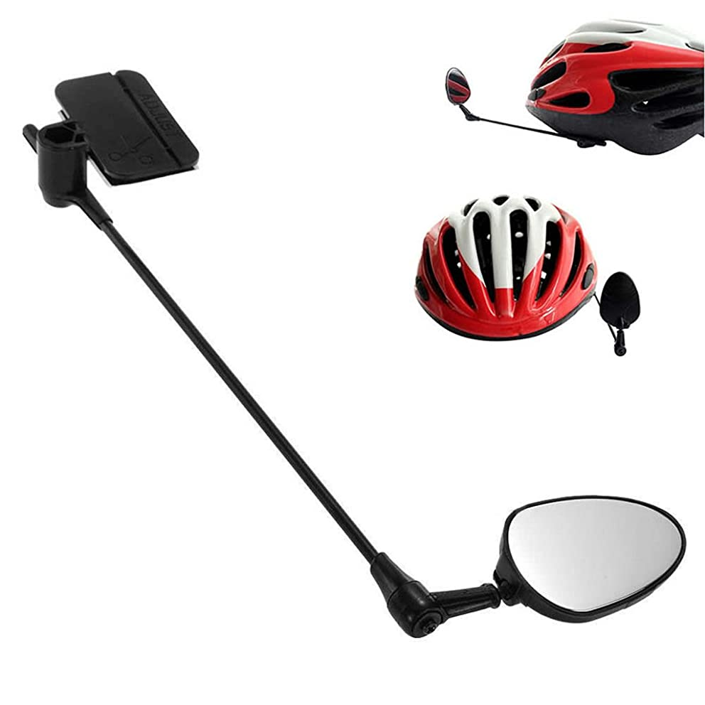 Hoiert Bike Bicycle Cycling Rear View Helmet Safety Motorcycle Rearview Mirror New