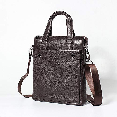 Confortable Messenger Bag for Men Sac à Main à bandoulière for Homme Élégant (Couleur : Marron)