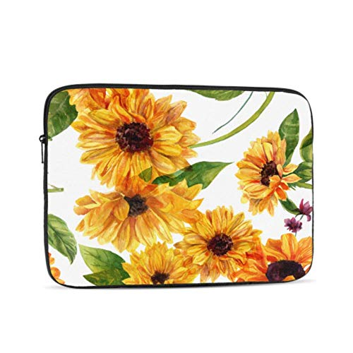 13 MacBook Pro Case Bright Yellow Sunflower Mac Covers Multi-Color & Size Choices10/12/13/15/17 Inch Computer Tablet Briefcase Carrying Bag