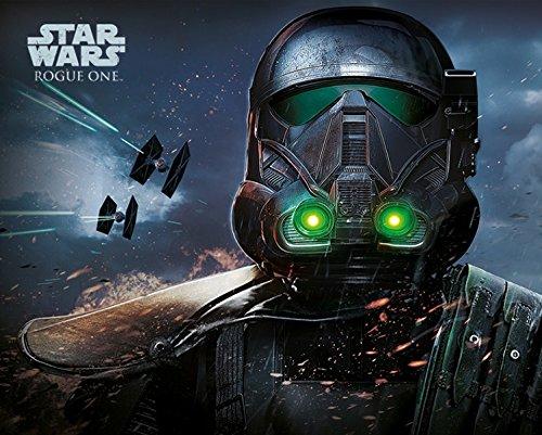 1art1 Star Wars - Rogue One, Death Trooper Póster Mini (50 x 40cm)