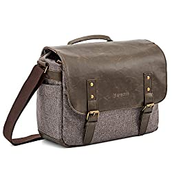 Evecase Urban Life PU Messenger Camera Bag.