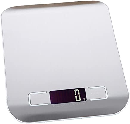 FY Home 5000g/1g Digital Scale Kitchen Measure Tools Stainless Steel Electronic Weight (A)