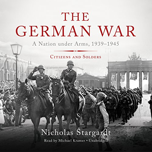 The German War audiobook cover art