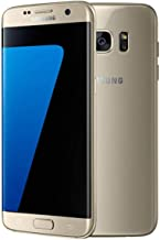 Samsung Galaxy S7 Edge Unlocked Smartphone, 32 GB Gold (US Warranty - Model SM-G935U)