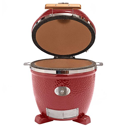 Monolith Junior Red Keramikgrill Grill Kamado 201022-Red