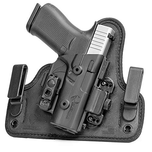 Alien Gear holsters Shape Shift Inside Waist Band - Sig P229r Railed 40 Cal - Right Hand - Standard Clips