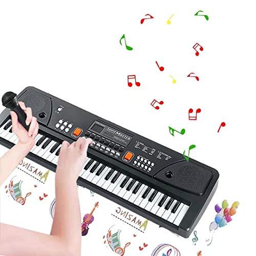 TianYaer Teclado Electrónico Piano 61 Teclas, Teclado de Piano...