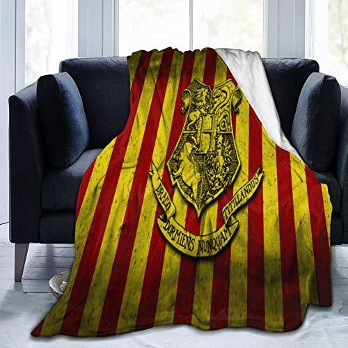 Manta gruesa de Harry Potter para adultos y niños, manta de forro polar súper suave para cama y sofá