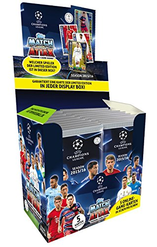 TOPPS - Match Attax - Booster - Champions League 2015/16 - Display