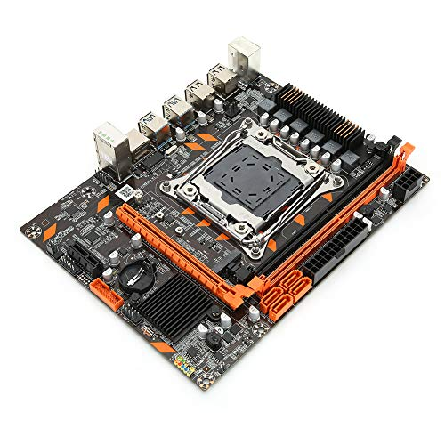 PC Motherboard for X99, CPU Slot for LGA 2011-3 DDR4 2666/2400/2133MHz Dual Channel Memory 1xPCI-EX16 Graphics Slot M.2 Hard Disk Port Computer Motherboard