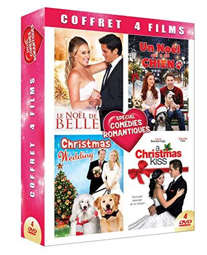 Comedies ROMANTIQUES DE Noel-Coffret 4 DVD